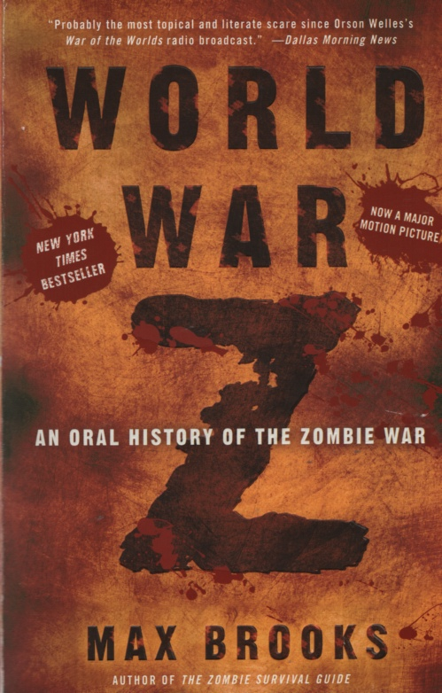 Image for WORLD WAR Z  An Oral History of the Zombie War