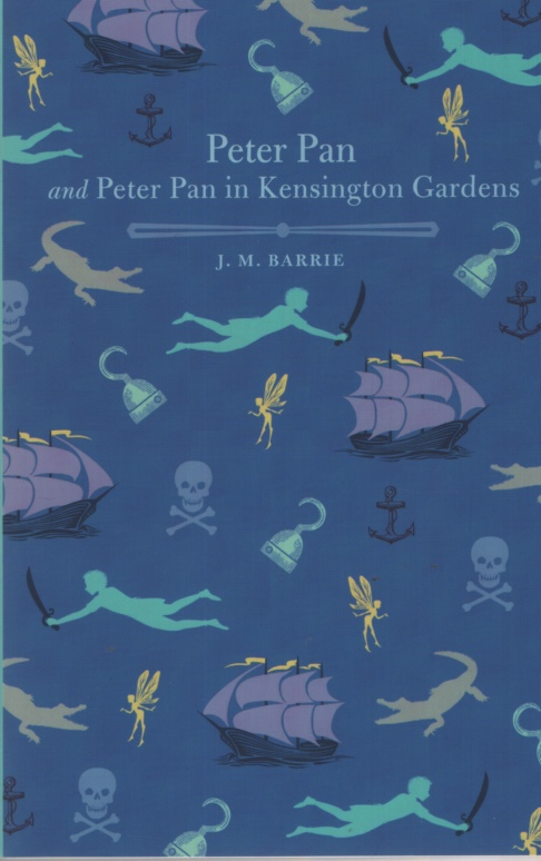 Image for PETER PAN AND PETER PAN IN KENSINGTON GARDENS [UNABRIDGED]