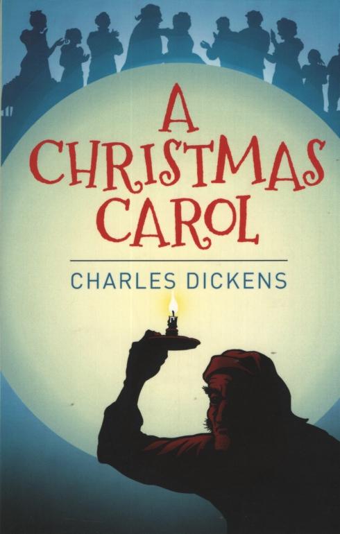 A Christmas Carol Book Cover.A Christmas Carol