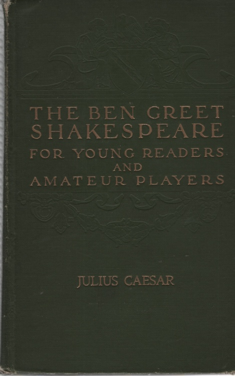 Image for THE BEN GREET SHAKESPEARE FOR YOUNG READERS AND AMATEUR PLAYERS Julius Caesar