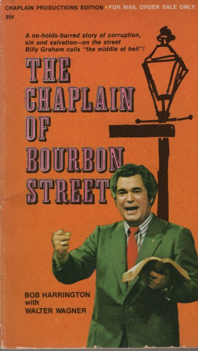 Image for THE CHAPLAIN OF BOURBON STREET