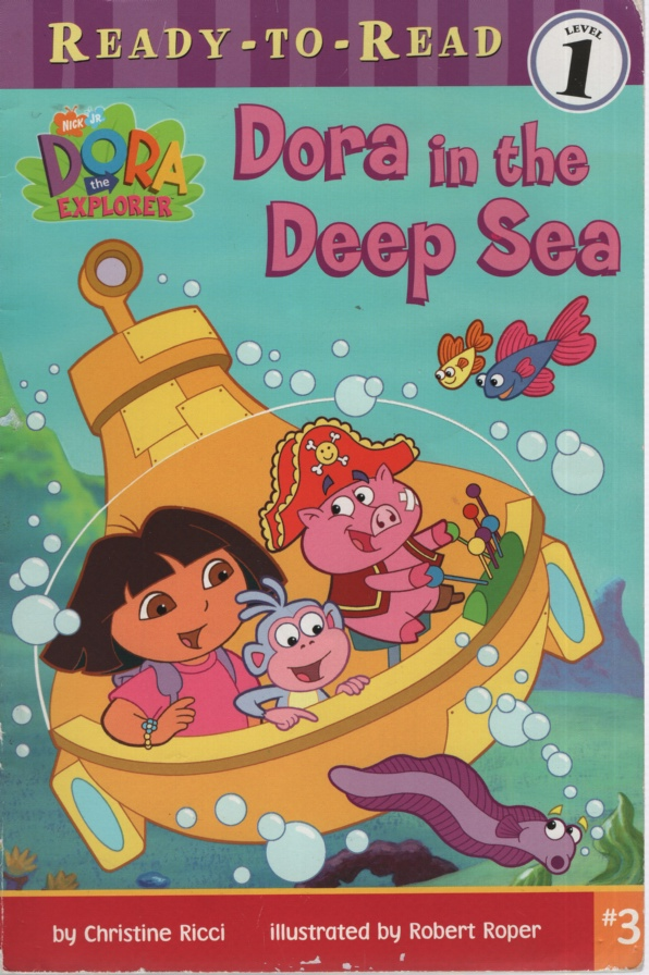 Image for DORA IN THE DEEP SEA