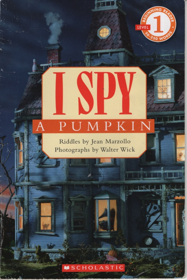 Image for I SPY A PUMPKIN