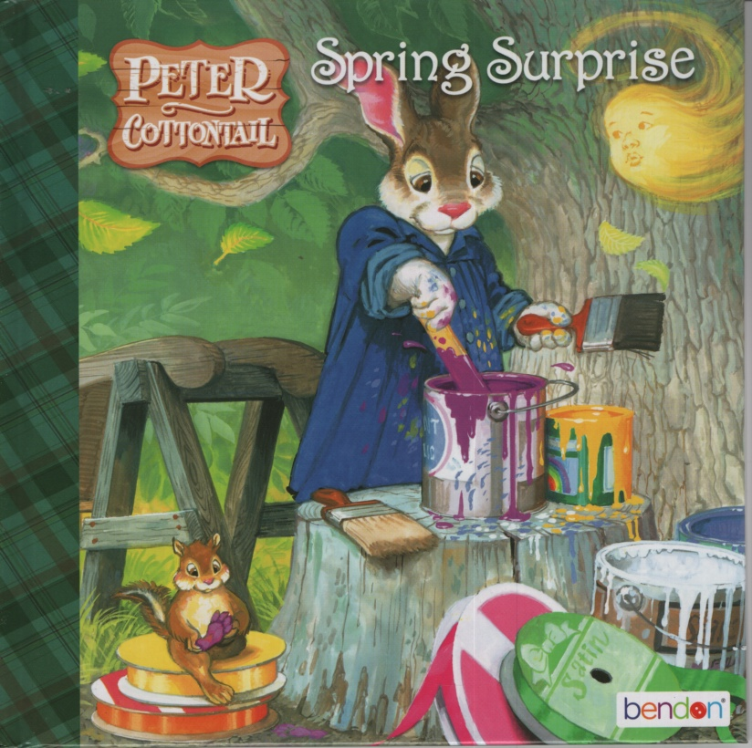 Image for PETER COTTONTAIL SPRING SURPRISE