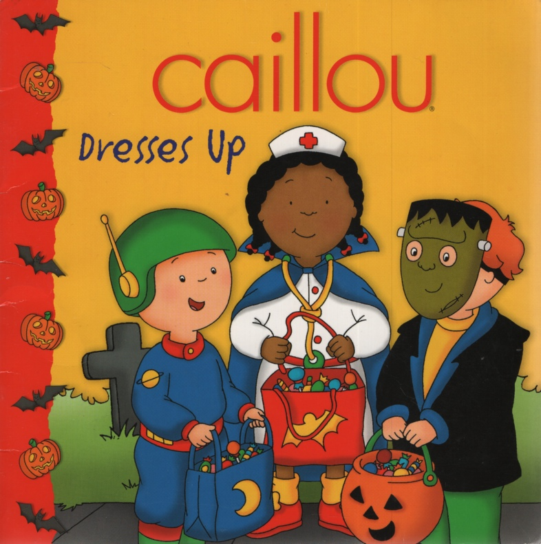 Image for CAILLOU DRESSES UP