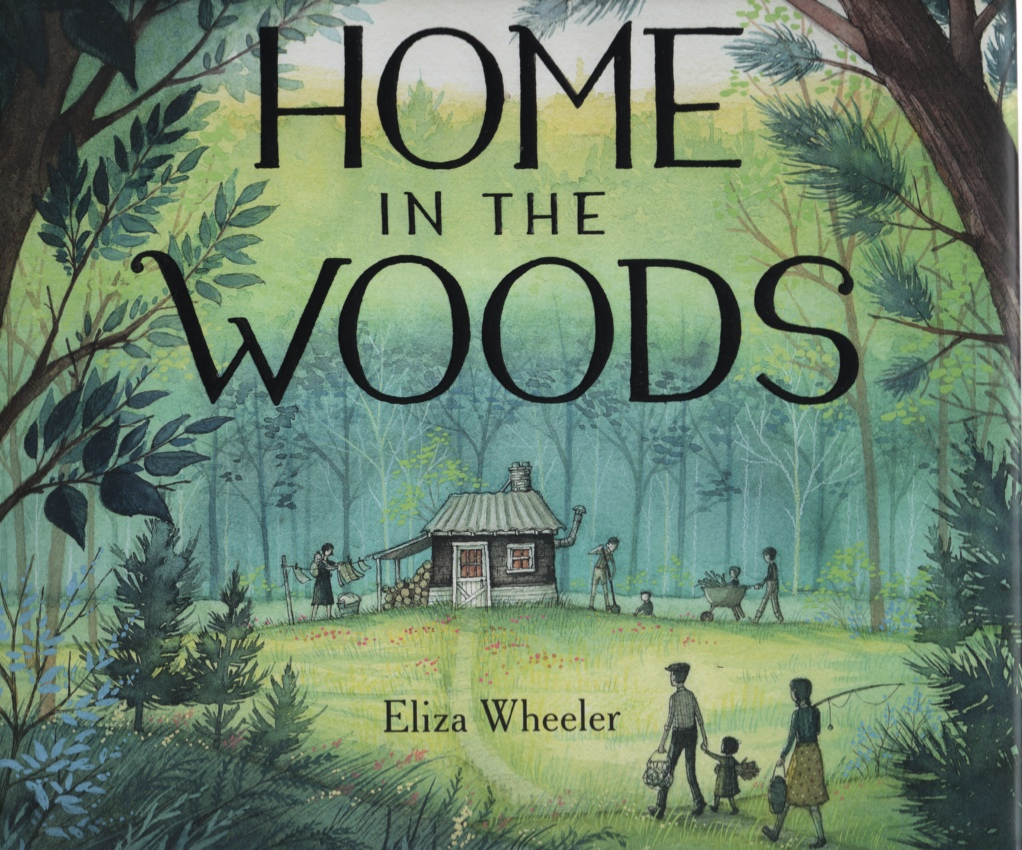 Image for HOME IN THE WOODS