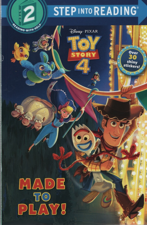 Image for TOY STORY 4: MADE TO PLAY