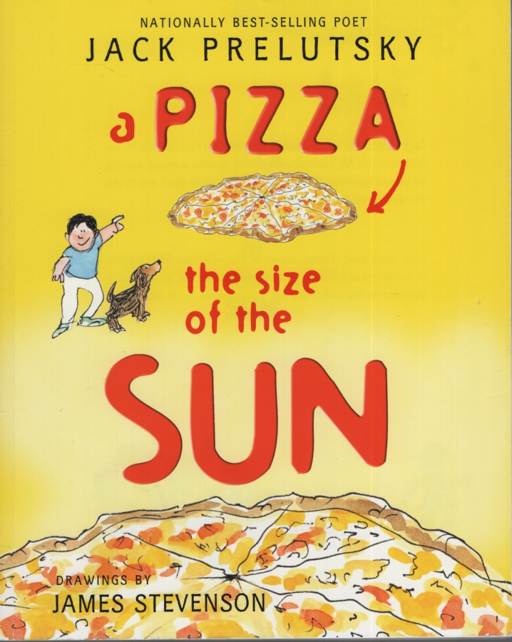 Image for A PIZZA THE SIZE OF THE SUN