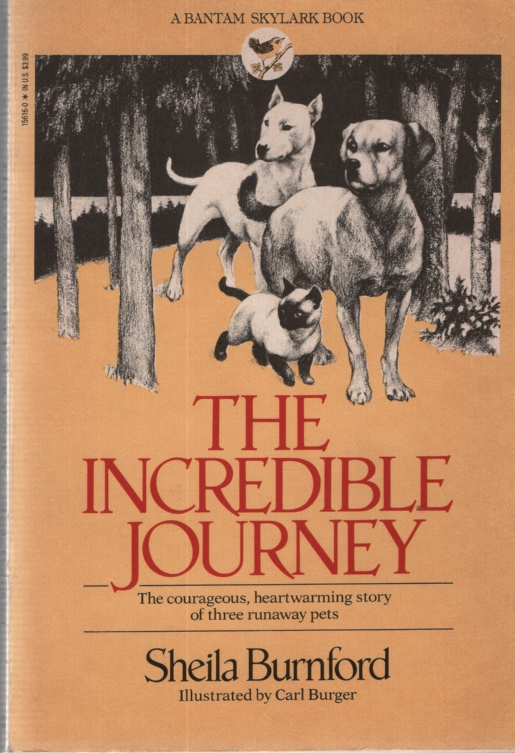 Image for THE INCREDIBLE JOURNEY