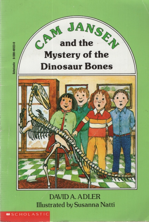 Image for CAM JANSEN AND THE MYSTERY OF THE DINOSAUR BONES