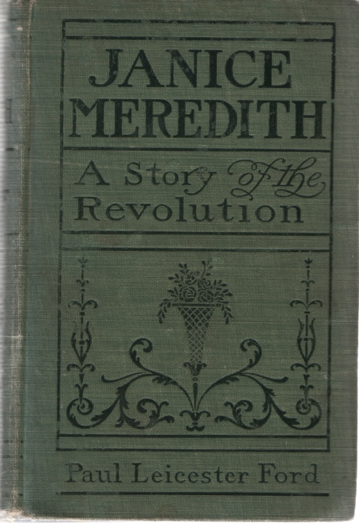 Image for JANICE MEREDITH A Story of the American Revolution