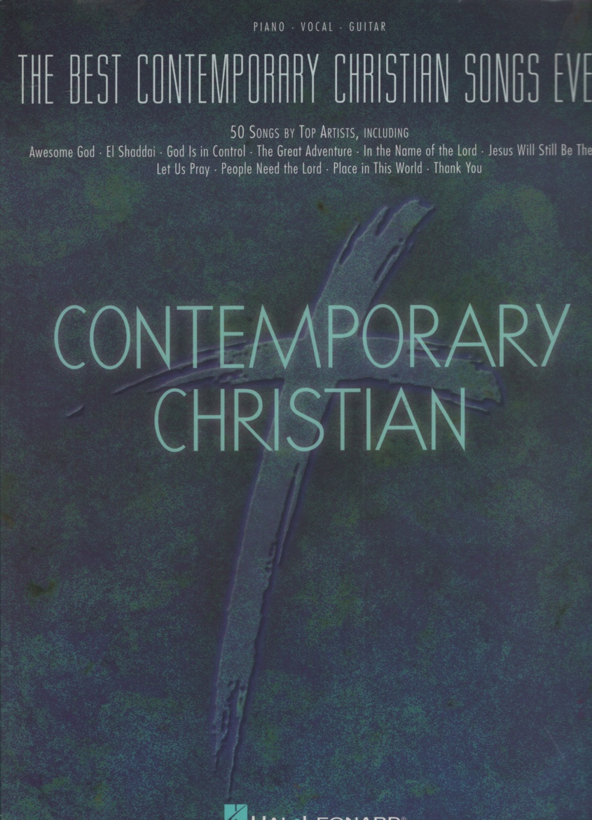 Image for THE BEST CONTEMPORARY CHRISTIAN SONGS EVER 50 Songs by Top Artists