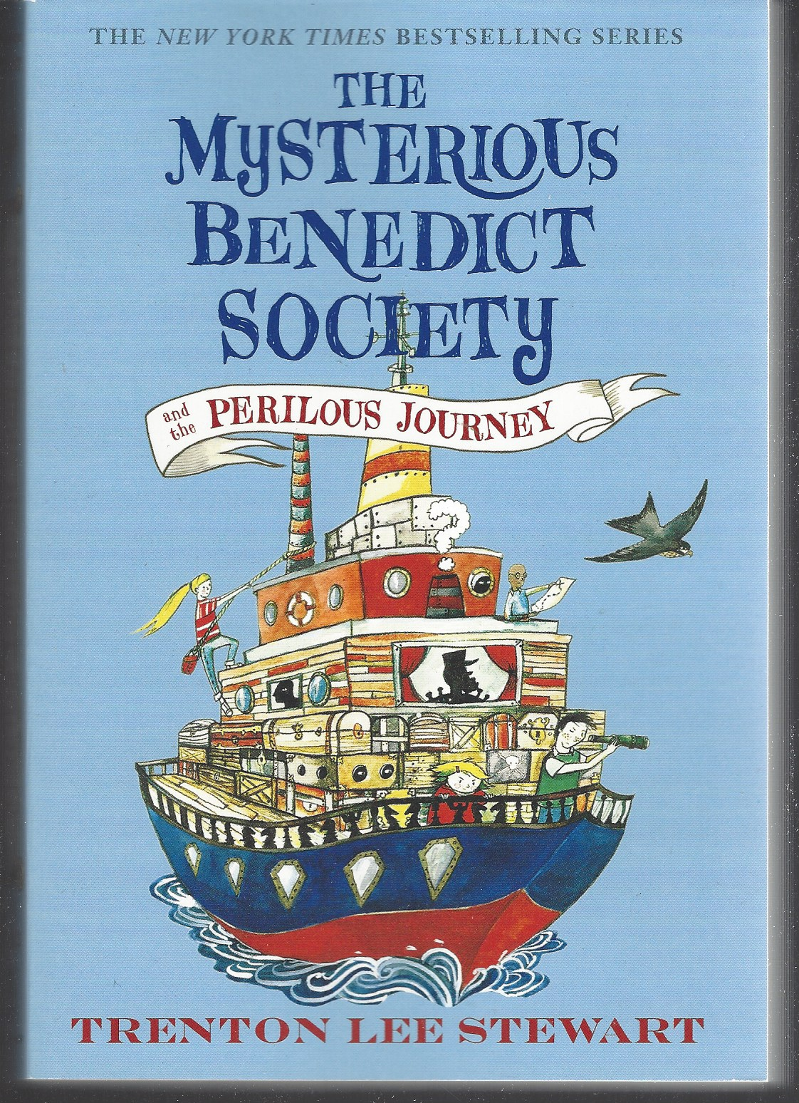 Image for THE MYSTERIOUS BENEDICT SOCIETY AND THE PERILOUS JOURNEY