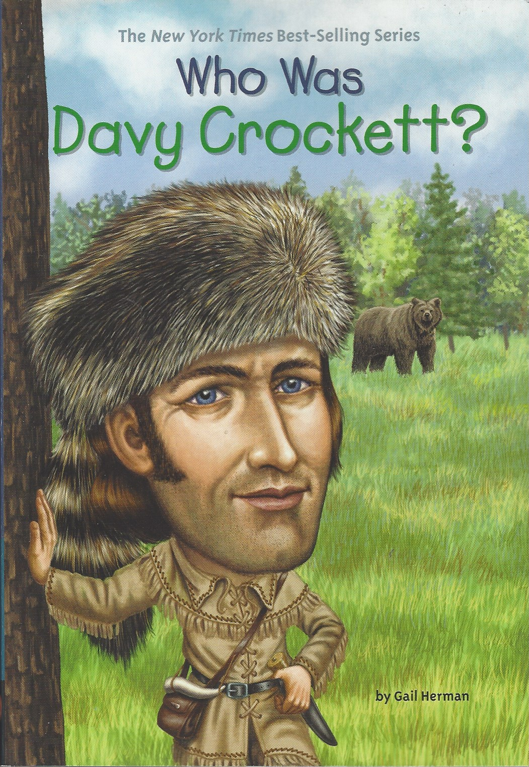 Image for WHO WAS DAVY CROCKETT?