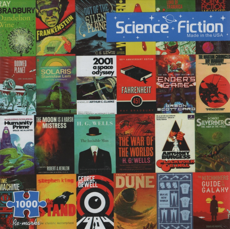 Image for SCIENCE FICTION, 1000 PIECE PUZZLE