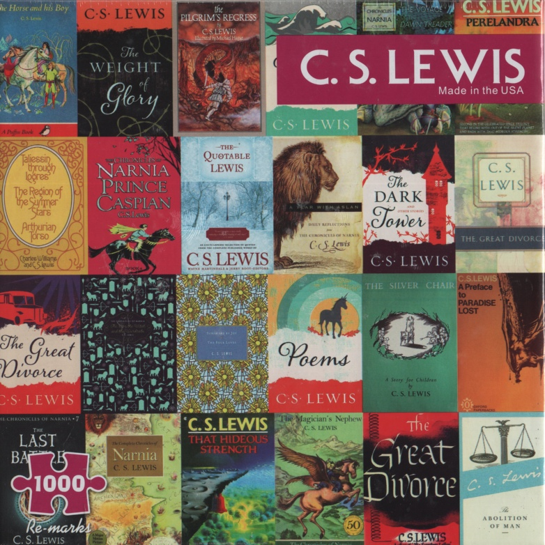 Image for C S LEWIS BOOK COVERS, 1000 PIECE PUZZLE
