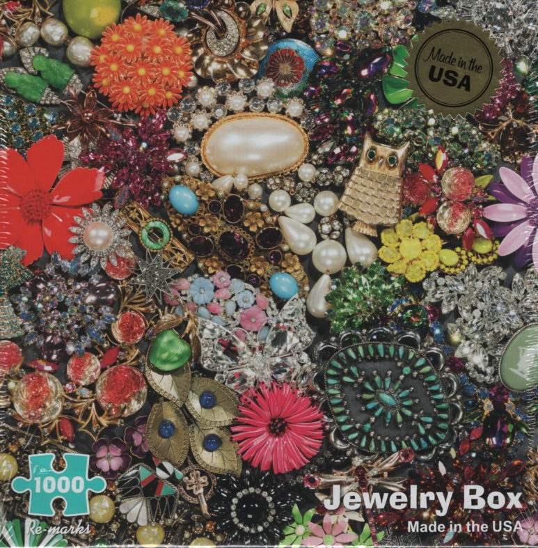 Image for JEWELRY BOX, 1000 PIECE PUZZLE