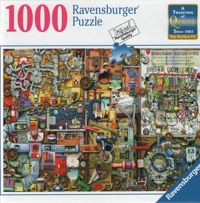 Image for INVENTOR'S CUPBOARD, 1000 PIECE JIGSAW PUZZLE