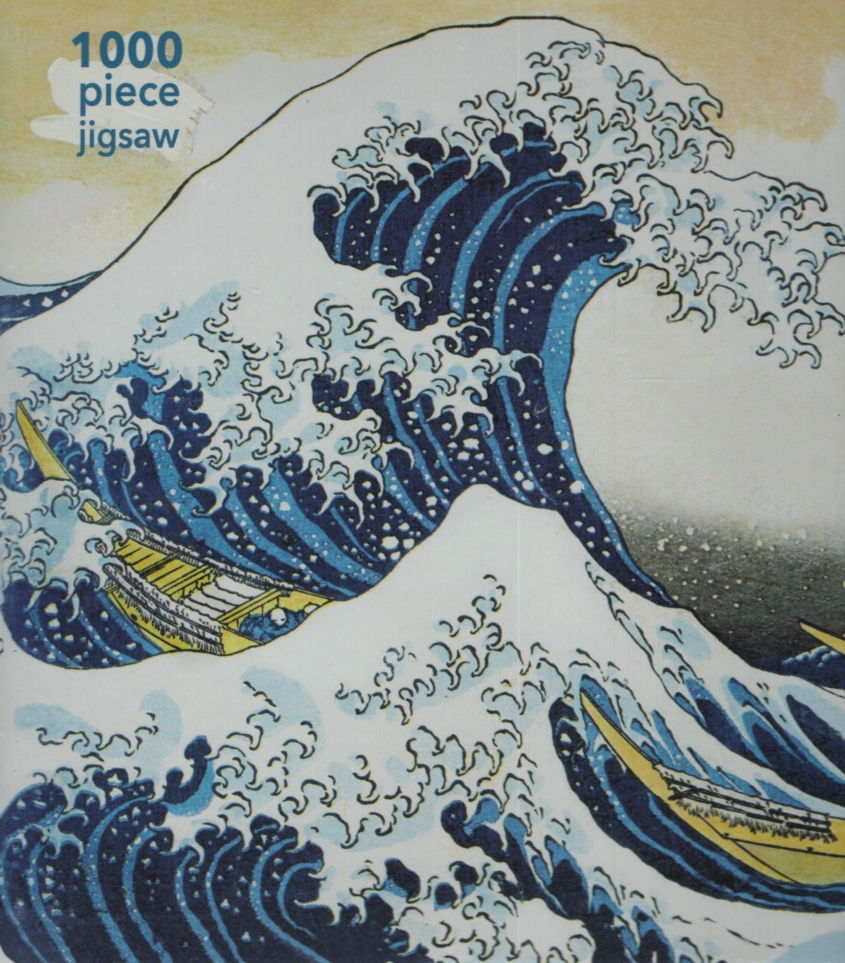 Image for THE GREAT WAVE, 1000 PIECE JIGSAW