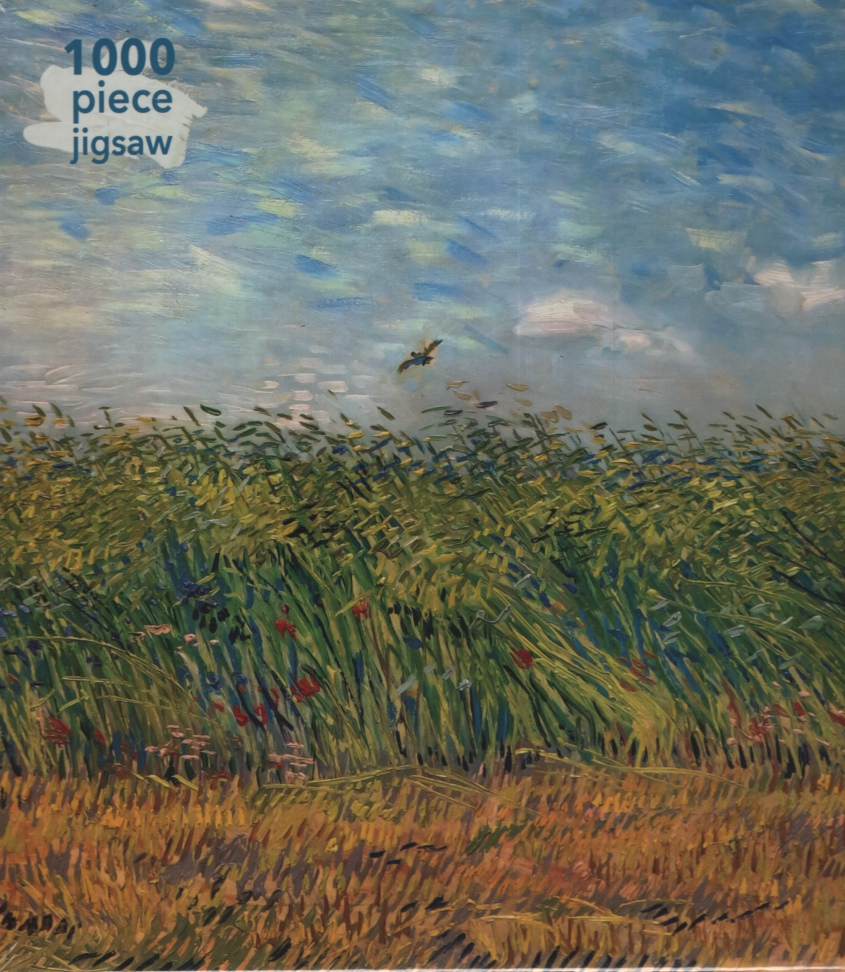 Image for WHEAT FIELD WITH A LARK, 1000 PIECE PUZZLE