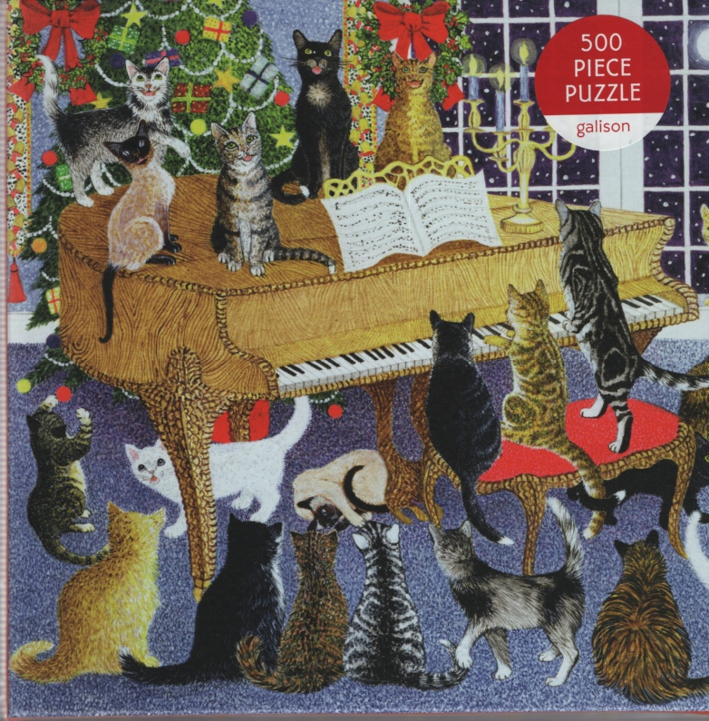 Image for CHRISTMAS CHORUS, 500 PIECE PUZZLE