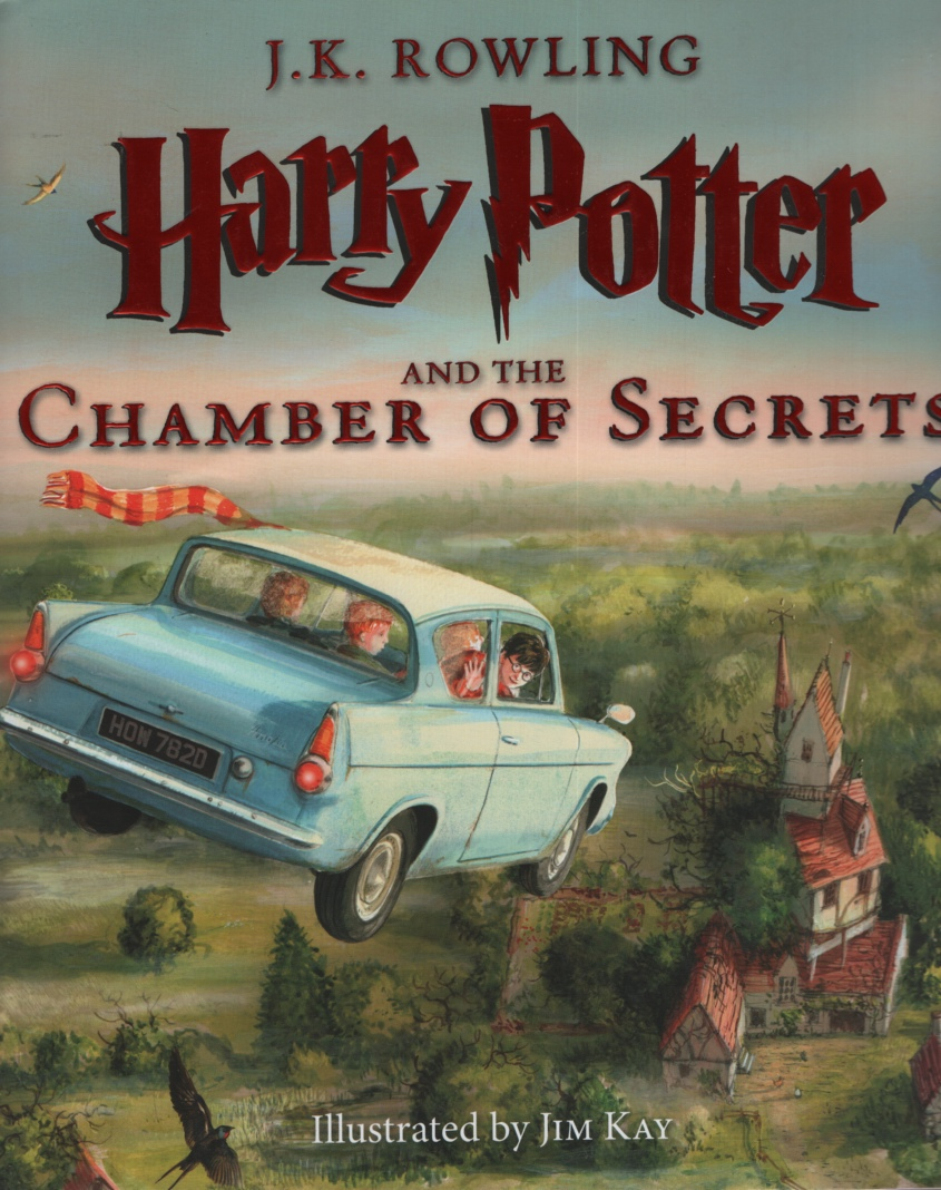 Image for HARRY POTTER AND THE CHAMBER OF SECRETS, ILLUSTRATED EDITION