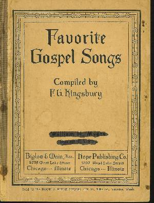 Image for FAVORITE GOSPEL SONGS