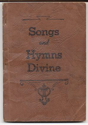 Image for SONGS AND HYMNS DIVINE