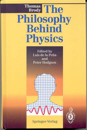 Image for THE PHILOSOPHY BEHIND PHYSICS