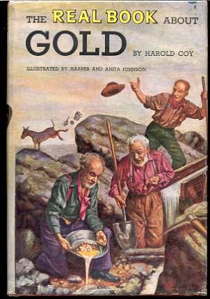 Image for THE REAL BOOK ABOUT GOLD