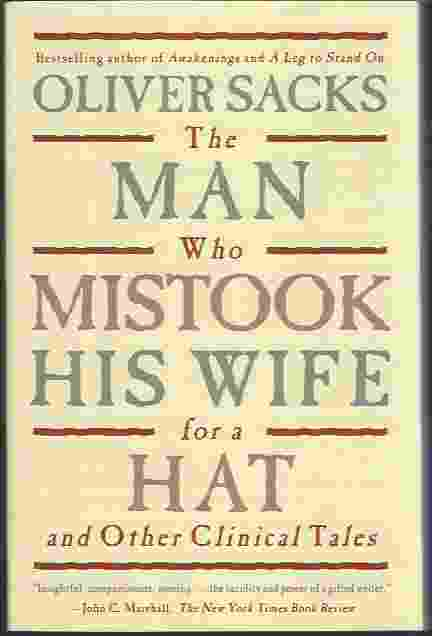 Image for THE MAN WHO MISTOOK HIS WIFE FOR A HAT