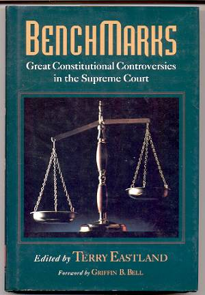 Image for BENCHMARKS Great Constitutional Controversies in the Supreme Court