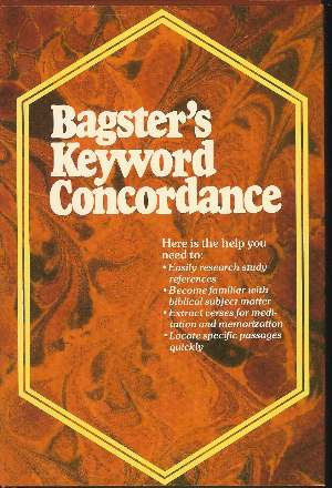 Image for BAGSTER'S KEYWORD CONCORDANCE