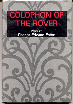 Image for COLOPHON OF THE ROVER: POEMS