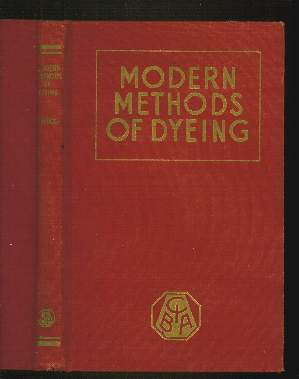 Image for MODERN METHODS OF DYEING