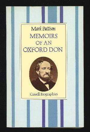 Image for MEMOIRS OF AN OXFORD DON