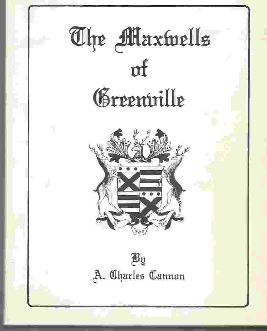Image for THE MAXWELLS OF GREENVILLE