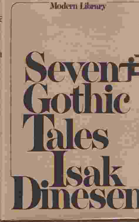 Image for SEVEN GOTHIC TALES