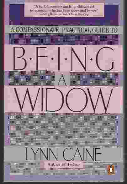 Image for BEING A WIDOW