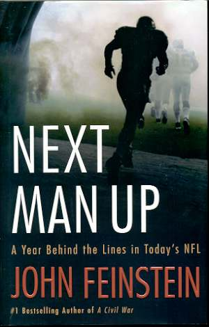 Image for NEXT MAN UP  A Year Behind the Lines in Today's NFL