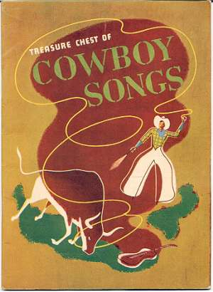 Image for TREASURE CHEST OF COWBOY SONGS