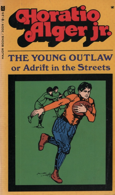 Image for THE YOUNG OUTLAW, OR ADRIFT IN THE STREETS