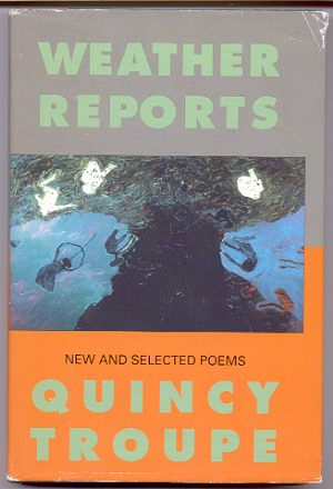 Image for WEATHER REPORTS, NEW AND SELECTED POEMS