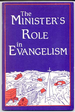 Image for THE MINISTER'S ROLE IN EVANGELISM