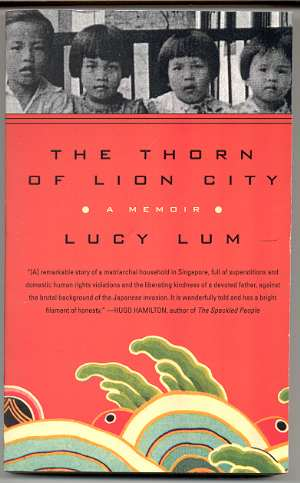 Image for THE THORN OF LION CITY: A MEMOIR