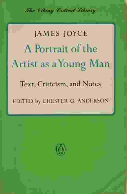 Image for A PORTRAIT OF THE ARTIST AS A YOUNG MAN Text, Criticism, and Notes