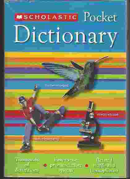 Image for SCHOLASTIC POCKET DICTIONARY