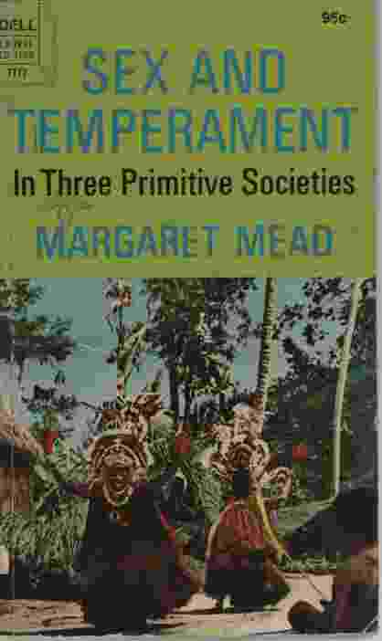 Image for SEX AND TEMPERAMENT IN THREE PRIMITIVE SOCIETIES