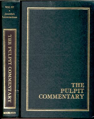 Image for THE PULPIT COMMENTARY VOLUME 11: JEREMIAH