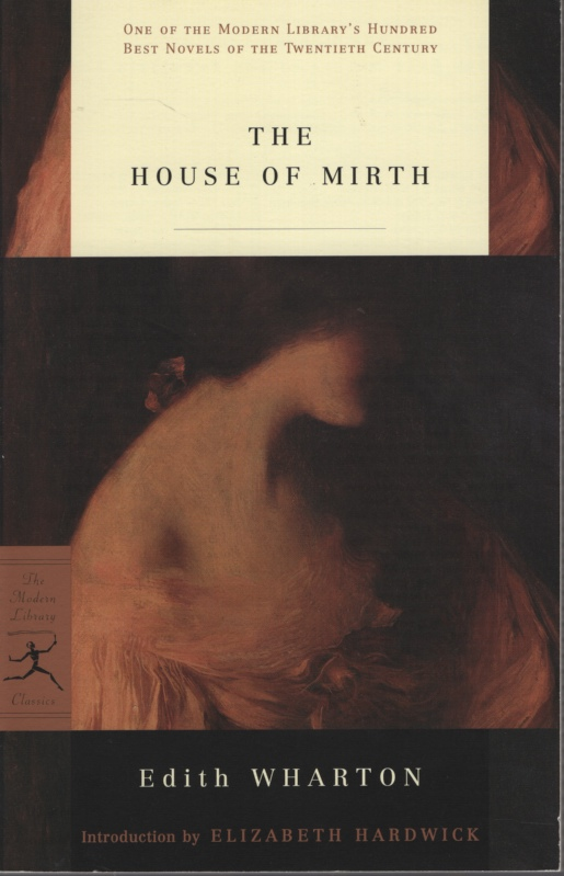 Image for THE HOUSE OF MIRTH Introduction by Elizabeth Hardwick